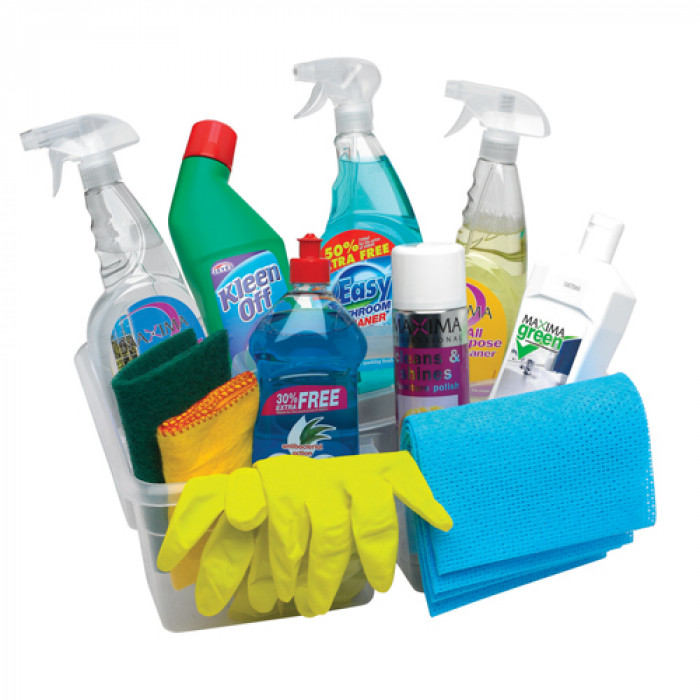 Spring Cleaning Kit - Includes everything you need in one handy box.