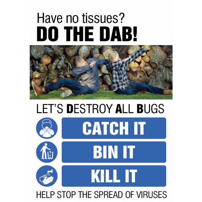 Do the DAB – Coronavirus Poster A2