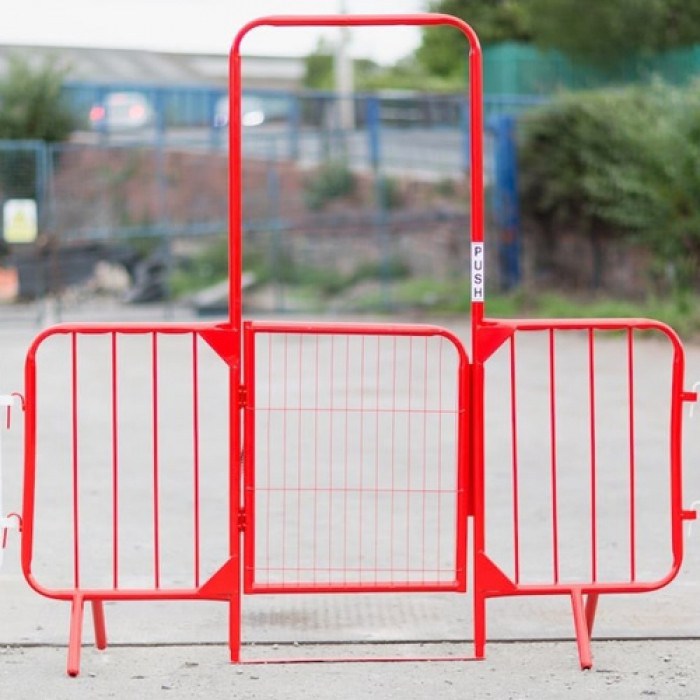 Securasite metal walk through barrier - c/w gate
