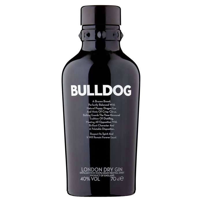 Bulldog London Dry Gin, 70 cl