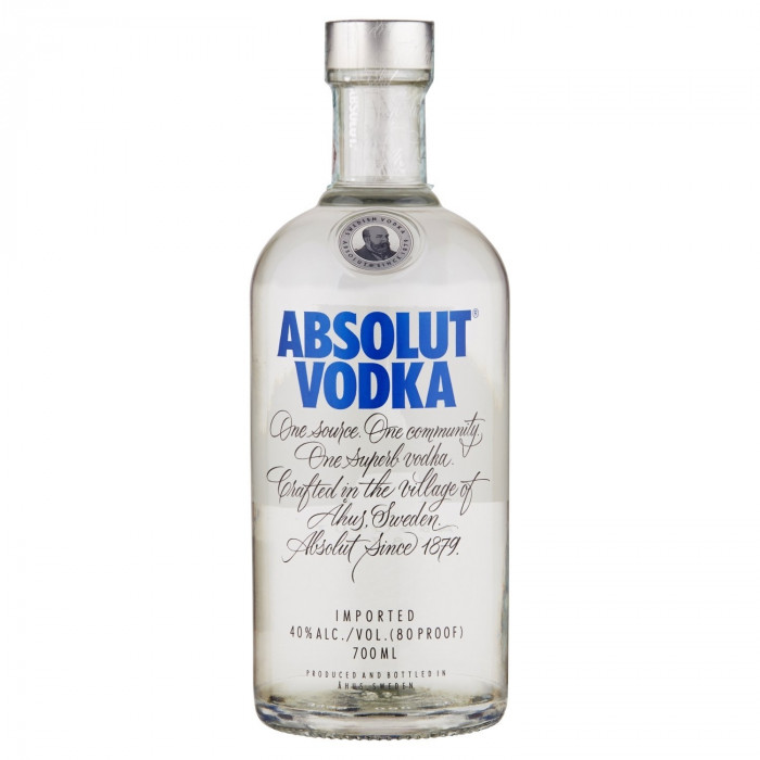 ABSOLUT Blue Swedish Vodka 70cl Bottle