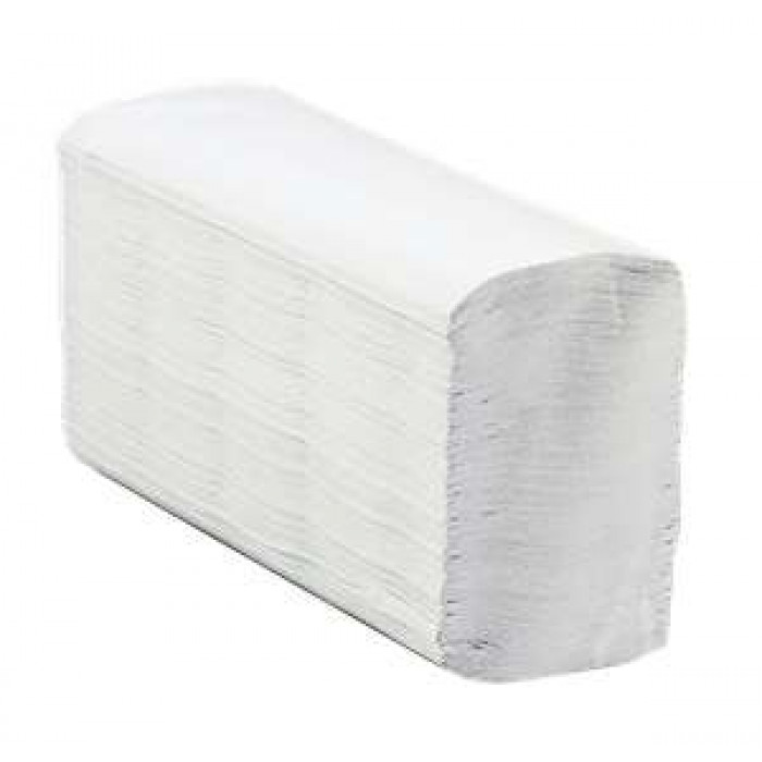 White Paper Hand Towels - Z-Fold