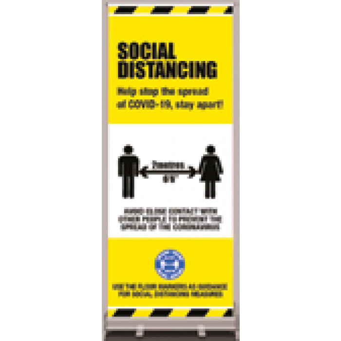 Rollout banner - Social distancing - 800 x 2000