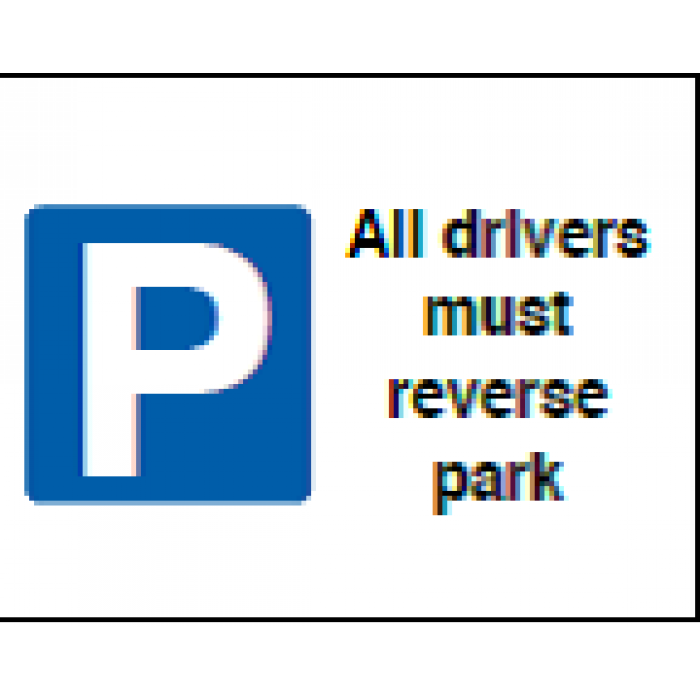 All Drivers Must Reverse Park