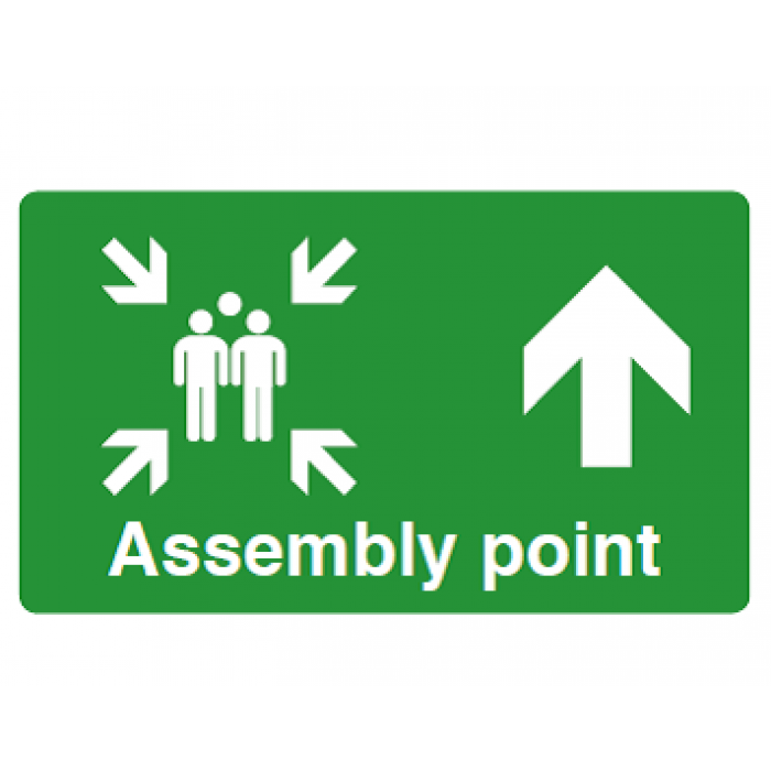 Assembly Point (ARROW UP)