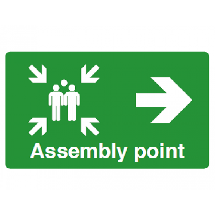 Assembly Point (RIGHT ARROW)