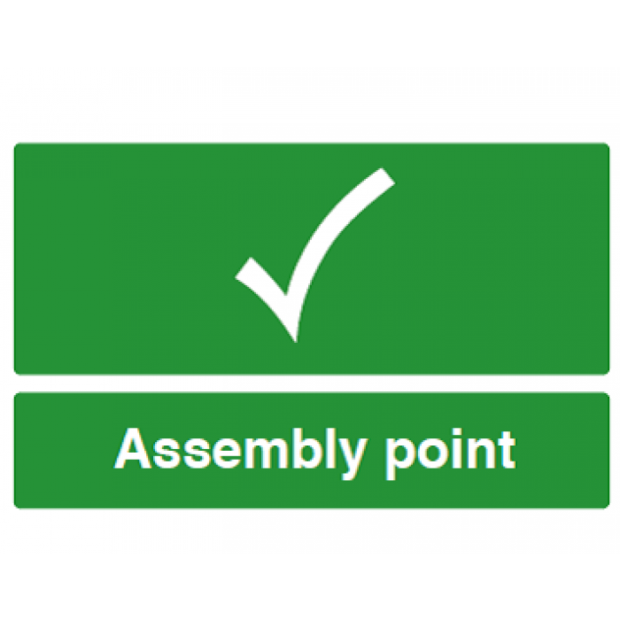 Assembly Point (with tick)