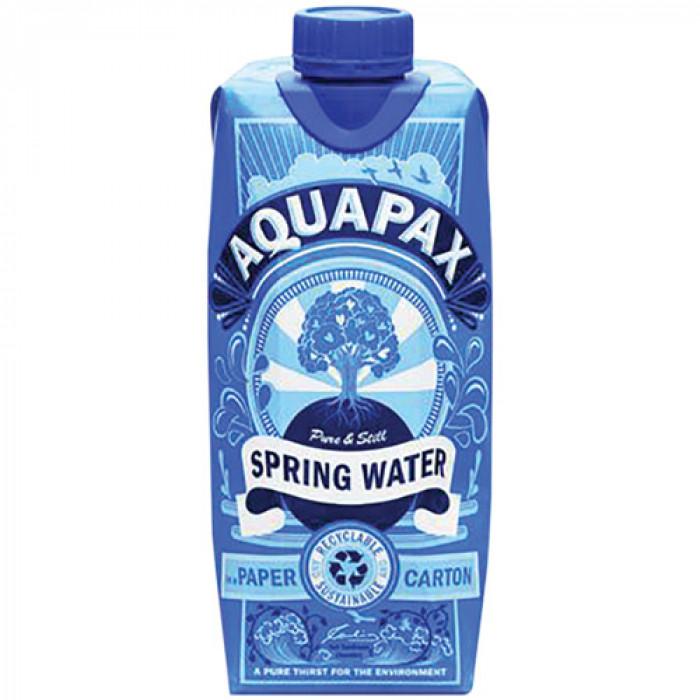 Aquapax Spring Water Cartons