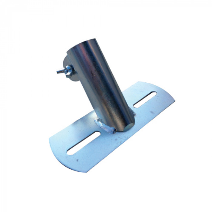 Broom Handle Clamp - Flat Back