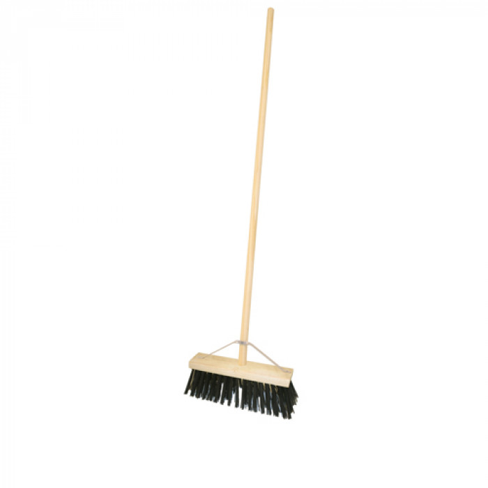 "12"" PVC Broom c/w Handle & Stay"