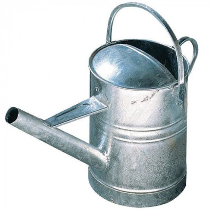 15 Litre Galvanised Tar Can Wide Spout