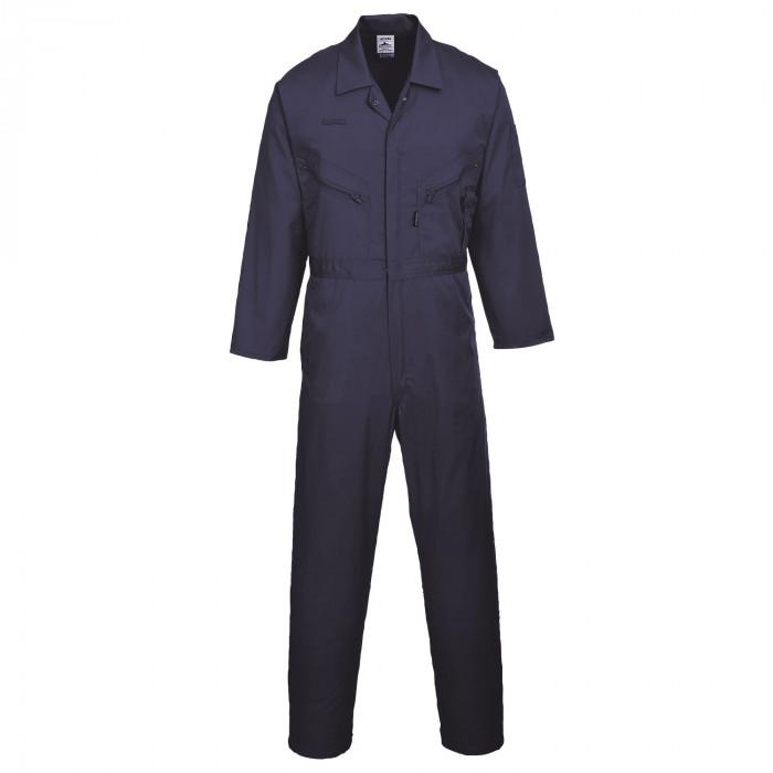 Standard Boiler Suit With Zip - Navy