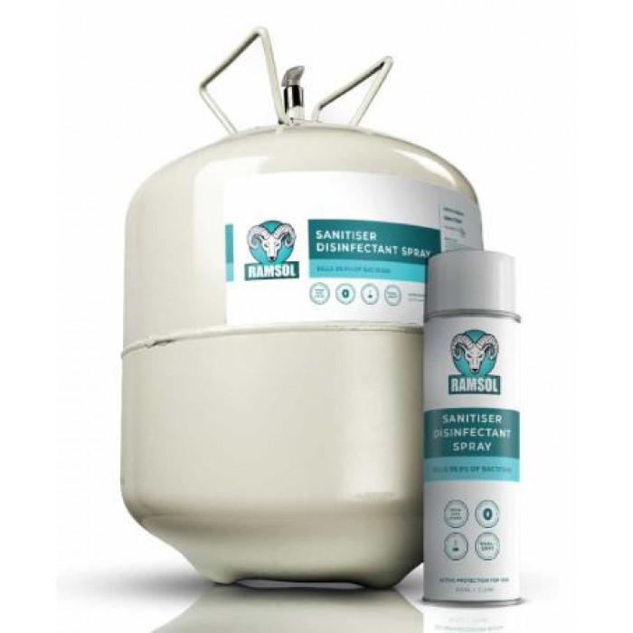 Ramsol sanitiser disinfectant spray - 22 ltr canister