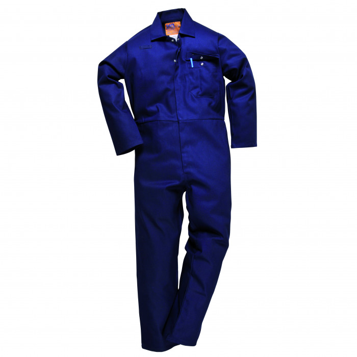 Flame Retardant Boiler Suit - Navy