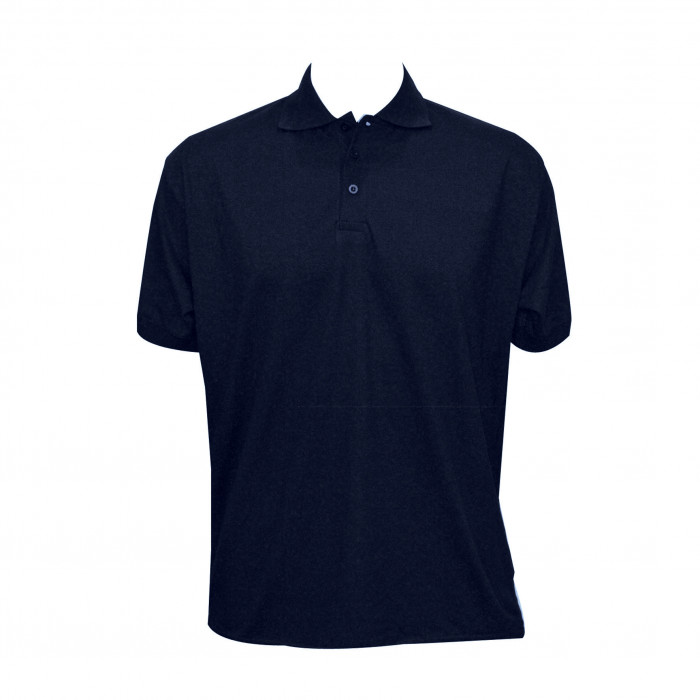 Jersey Polo Shirt - Navy