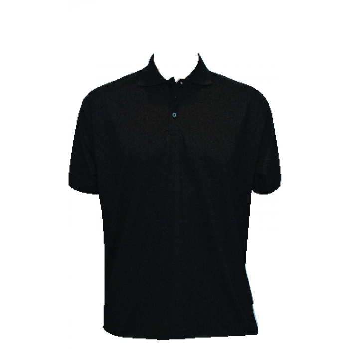 Jersey Polo Shirt - Black
