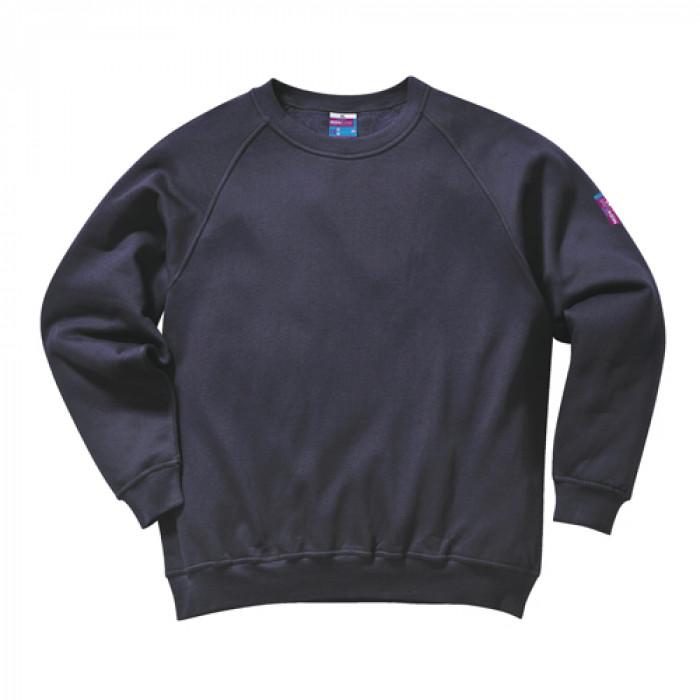Modaflame Flame Retardant Sweatshirt - Navy