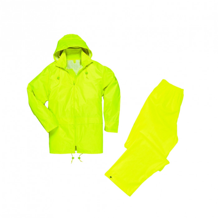 Heavy Duty Wet Suit Trousers & Jacket (Yellow)