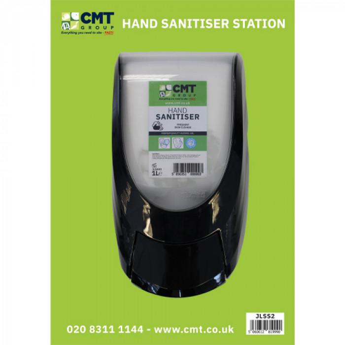 1L Hand Sanitiser Station