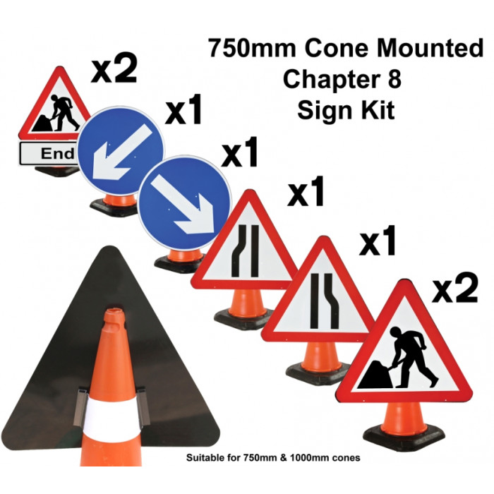 Cone Sign - Chapter 8 Kit - Set 8