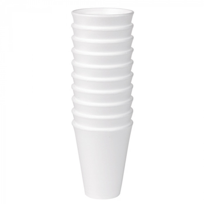 Foam Insulated Polystyrene Cups Pack of 1000