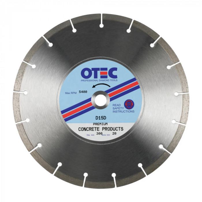 OTEC D15D Concrete Blade