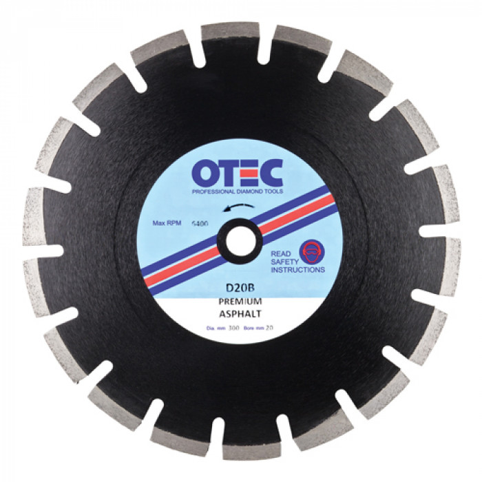 OTEC D20B Premium Asphalt Blade