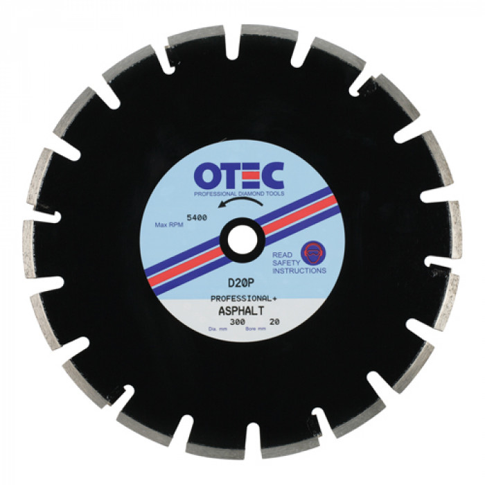 OTEC D20P Professional Plus Asphalt Blade