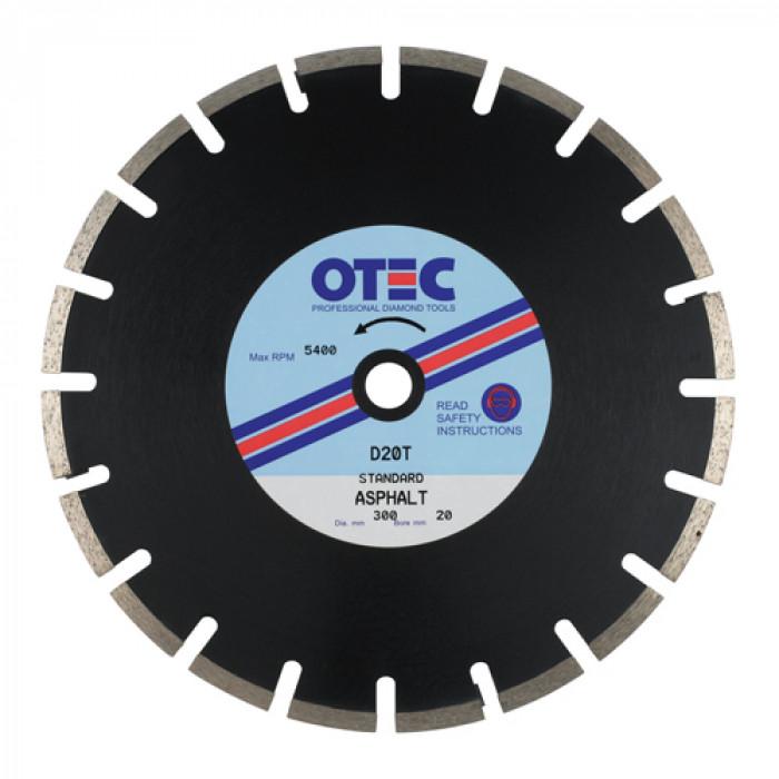 OTEC D20T Standard Asphalt Blade