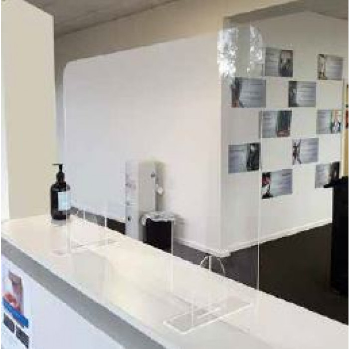 Divider screens - Clear Perspex