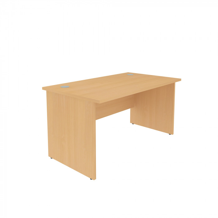 Fixed Pedestal Rectangle Desk