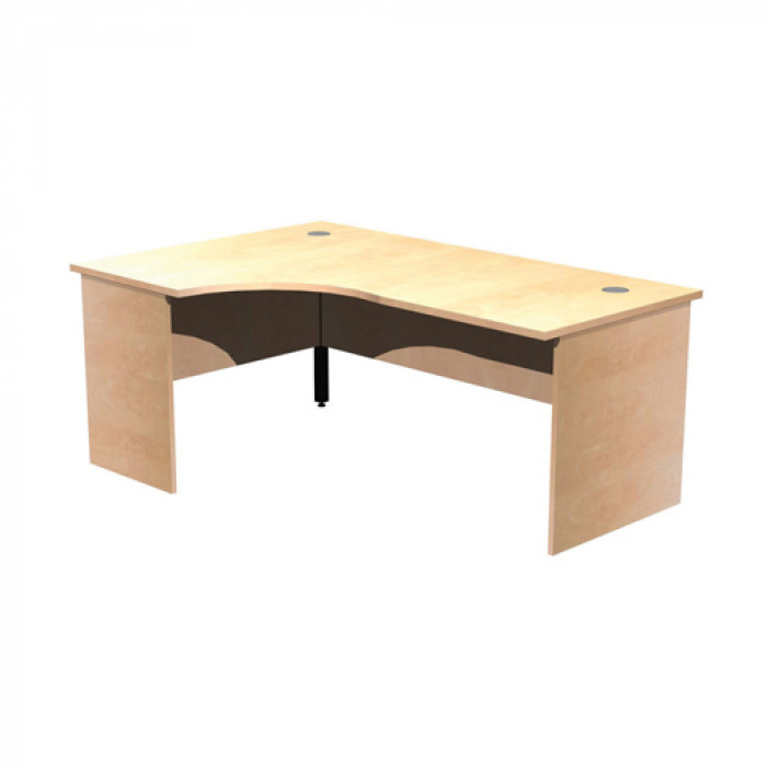 Left Hand Panel End Corner Crescent Desk
