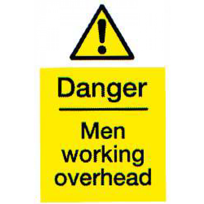 Danger - Men Working Overhead