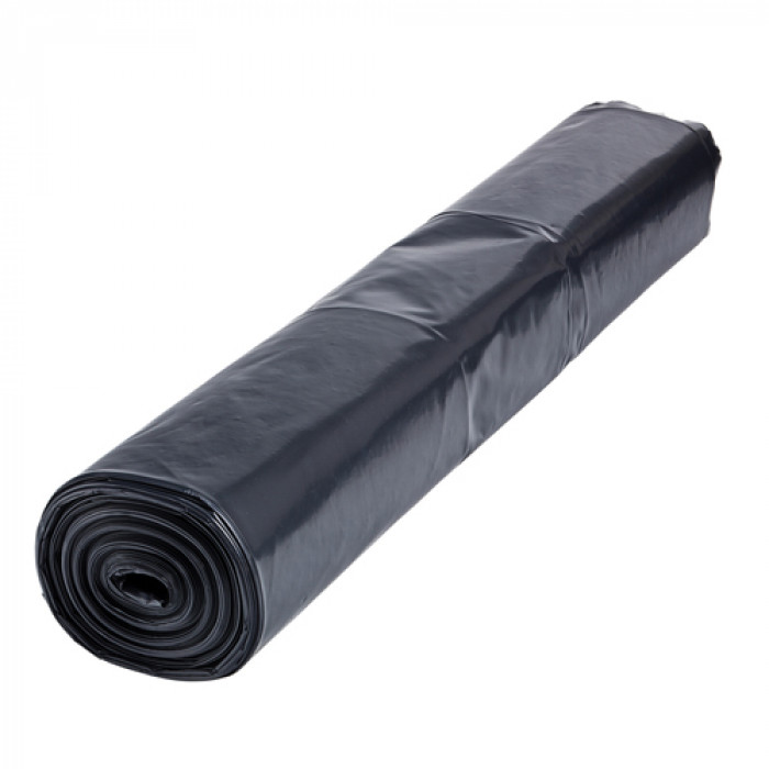 Black Polythene Heavy Duty Sheeting 4m Wide 1000 Gauge Thick Plastic Cover