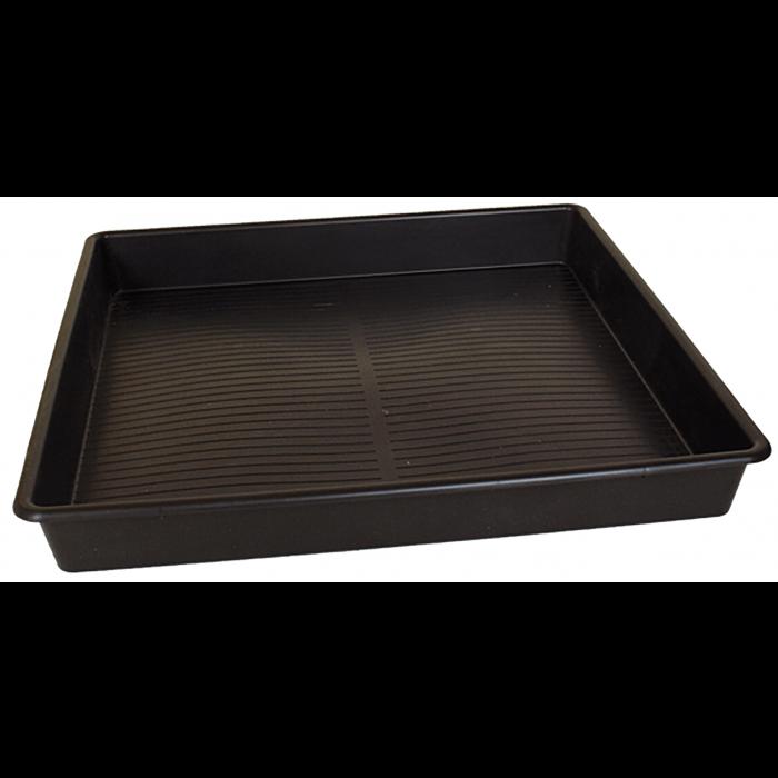 Square Deep Plastic Drip Tray - 1000 x 1000 x 120mm