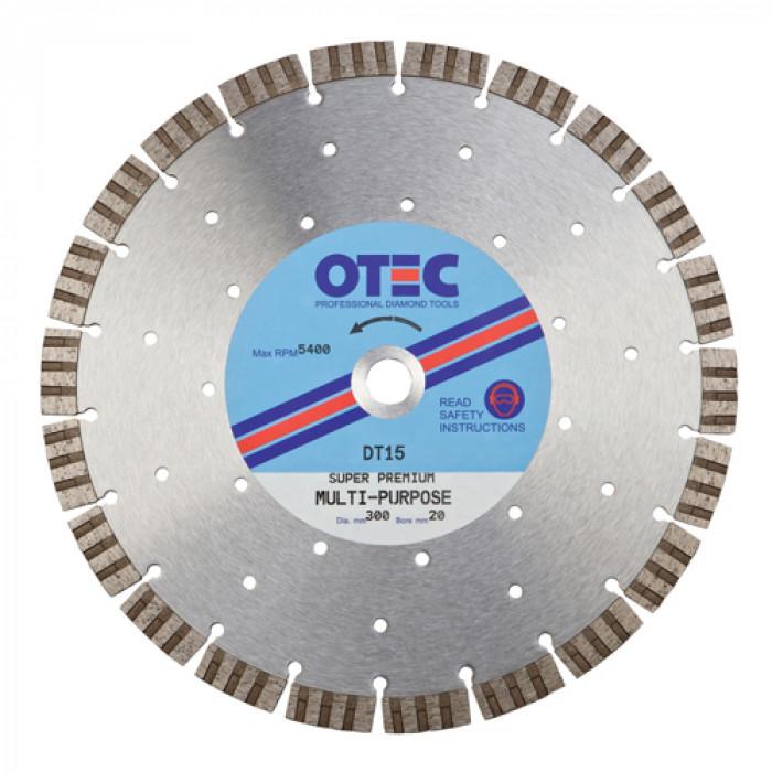 OTEC DT15 Premium Concrete Blade