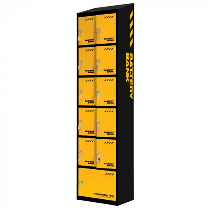 Defender E92000 Battery Bank 10 Charging Lockers