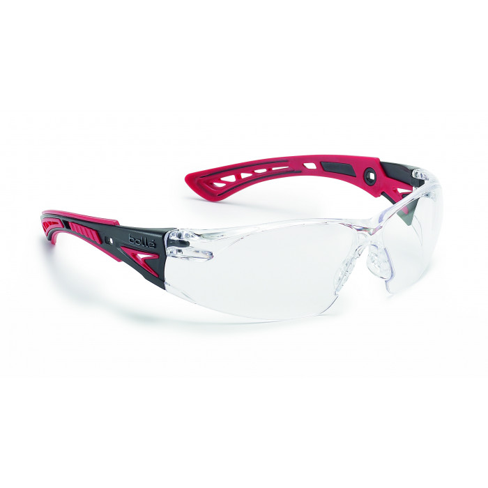 Rush Plus Clear Safety Spectacles | Bolle EYBRPC