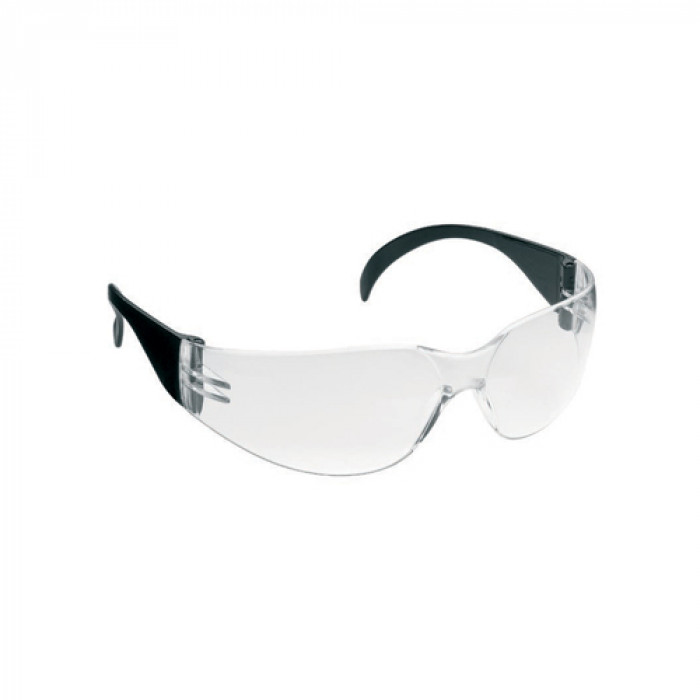 Clear Lens WrapAround Anti-Mist Safety Spectacle Glasses
