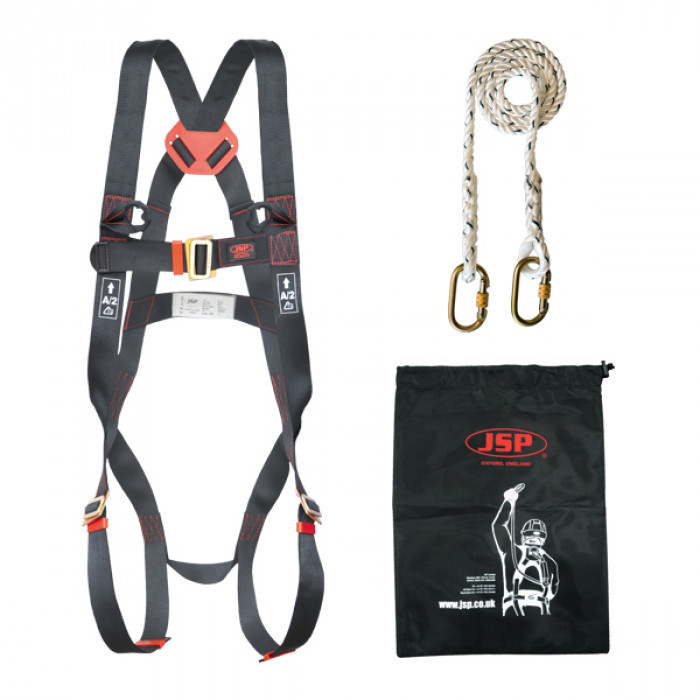 PPE Harness | Vertex Winch | Harness & Lanyard Kit | Vertex Tripod