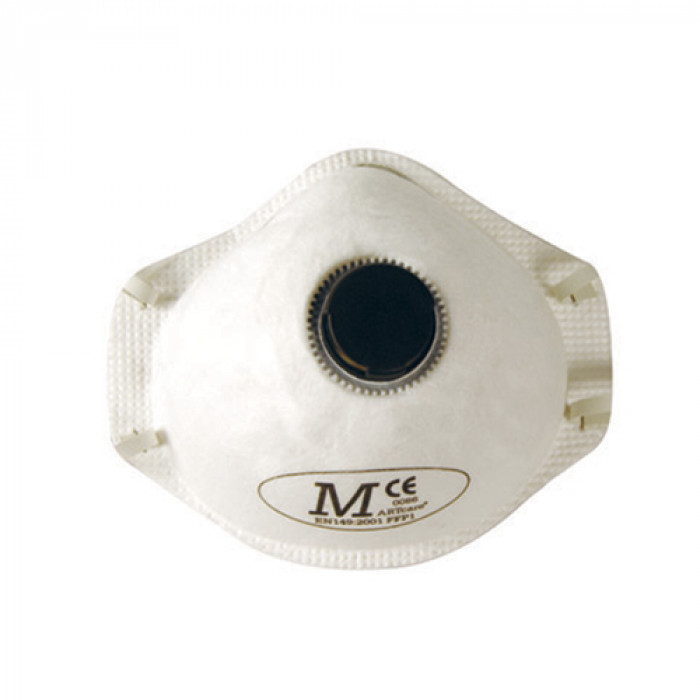 Disposable Moulded Mask Valved FFP1