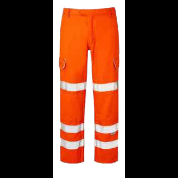 Hi Vis FR Trouser   BIZ30HV-ORN