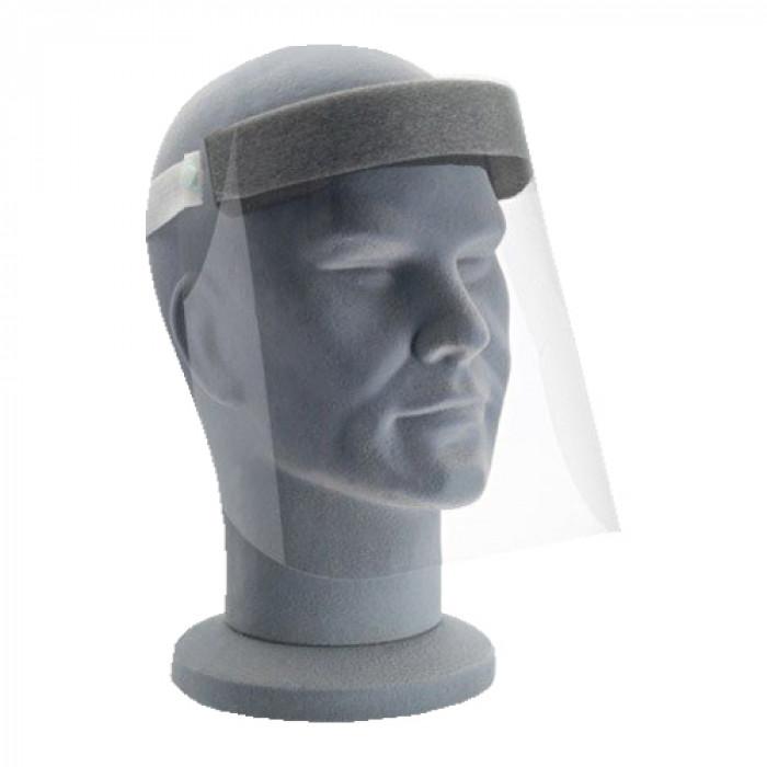 Full face safety visor