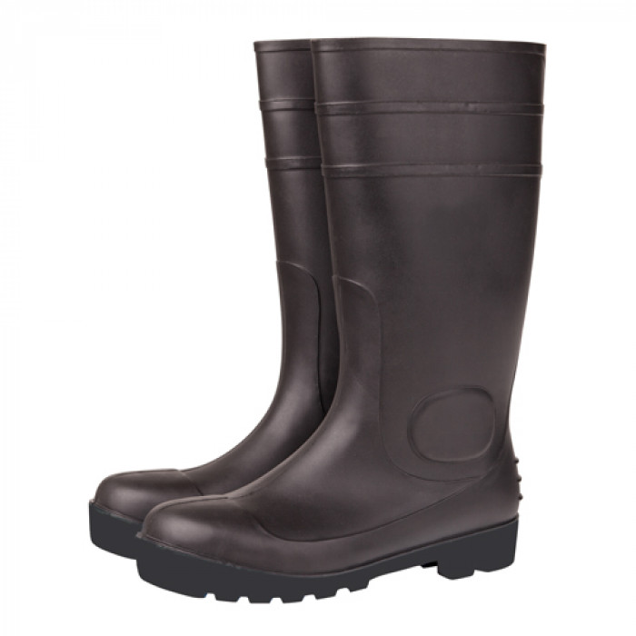 Wellington Boot with Steel Toecap & Mid Sole