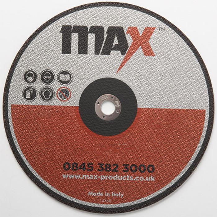Thin Abrasive Metal Slitting Disc | MAX M-SLT