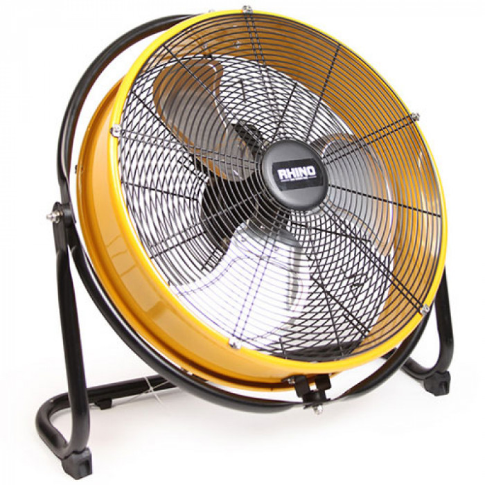 Rhino 360 Compact Industrial Drum Fan 240v - 690 x 200 x 675mm