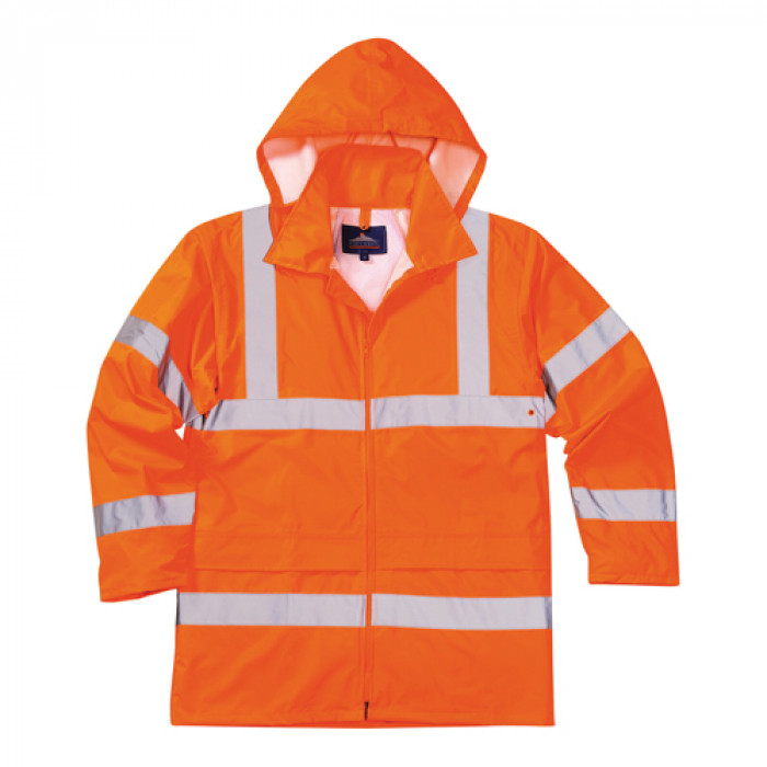 Nylon Rain Jacket - Orange