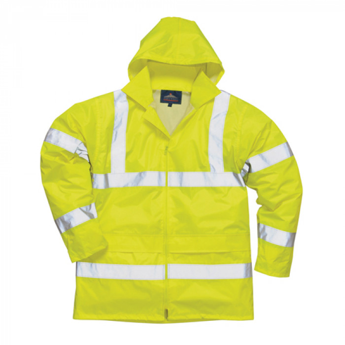 Nylon Rain Jacket - Yellow