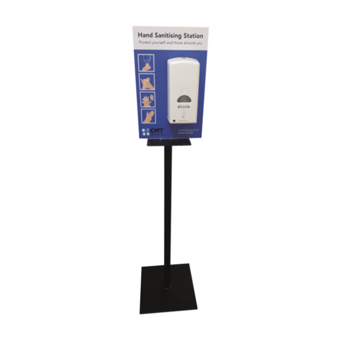 Touch Free Hand Sanitiser Dispenser with Metal Stand