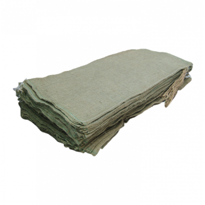 "Rot Proof Hessian Sandbags 14x33"""